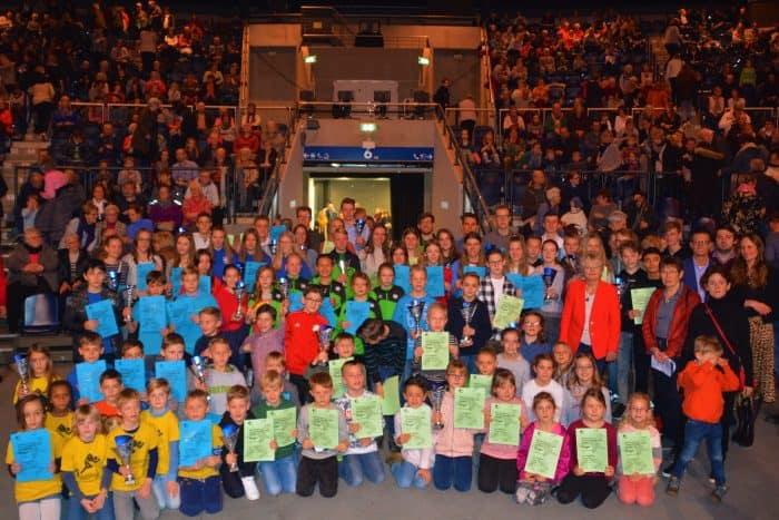 Gruppenfoto nach der Siegerehrung. Foto: DBS