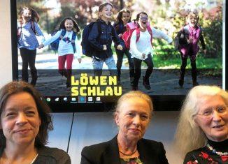 """Engagiert für das Projekt """"Löwenschlau"""": Andrea Naumann, Erika Borek und Ursula Hellert. Foto: Henning Noske"""