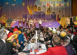 Großer Büttenabend der Braunschweiger Karnevalgesellschaft in der Stadthalle 2019. Foto: Peter Sierigk