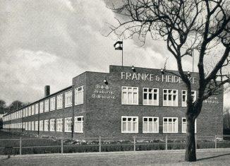 Die 1930 in Betrieb genommene Rollei-Fabrik an der Salzdahlumer Straße. Foto: Stadtarchiv Braunschweig, Bildersammlung H XVI D IV.