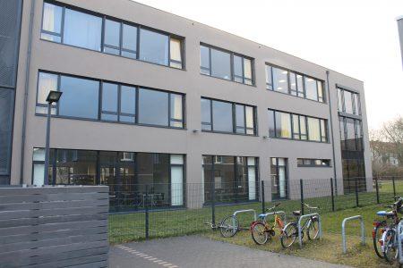 Den Neubau nutzen NO und Ricarda-Huch-Schule seit 2013 gemeinsam. Foto: Der Löwe