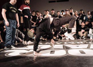 Szene vom Floor Wars-Wettbewerb 2019 im Jugendzentrum Mühle. Foto: JZ Mühle