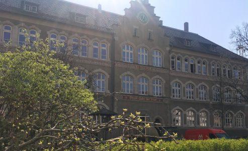 Das Gebäude der Grundschule Comeniusstraße. Foto: Der Löwe
