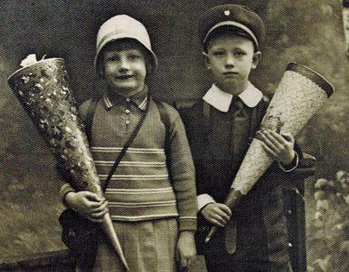 Einschulungsfoto 1931. Foto: privat