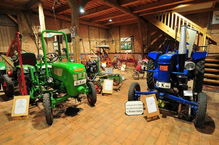 Das Museum im Dorf Lüben widmet sich der Landwirtschaft zur Zeit der Industrialisierung. Foto: Südheide Gifhorn GmbH/Frank Bierstedt