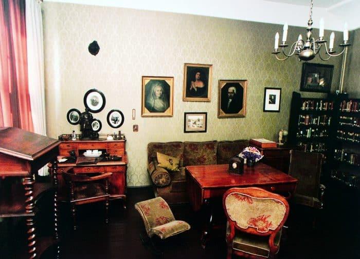 Das Arbeitszimmer von Wilhelm Raabe. Foto: Raabe-Haus