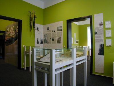 Blick in die Ausstellung des Raabe-Hauses. Foto: Raabe-Haus
