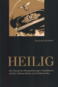 """Bucheinband """"Heilig"""" von Eckhard Schimpf. Foto: Der Löwe"""