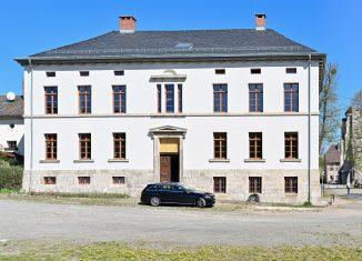 Frontansicht des sanierten Gutsherrenhauses in Walkenried. Foto: Andreas Greiner-Napp