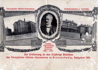 Postkarte aus dem Jahr 1910 anlässlich des 25-jährigen Bestehens. Foto: Wikipedia