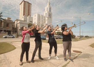 Granma, Posaunen aus Havanna von Rimini Protokoll, hätte das Festival eröffnet. Foto: Theaterformen / Mikko Gaestel