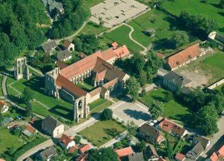 Luftaufnahme des ZisterzienserMuseum Kloster Walkenried. Foto: privat