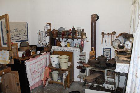 """Küche im Bauernmuseum """"Lenges Hof"""". Foto: Der Löwe."""