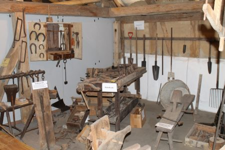 Blick in die Werkstatt. Foto: Der Löwe