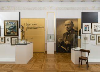 """Das Schlossmuseum widmet der von Otto Ralfs gegründeten """"Gesellschaft der Freunde junger Kunst"""" eine vielbeachtete Sonderausstellung. Foto: Schlossmuseum"""