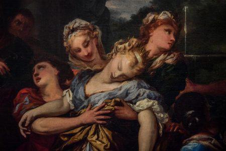"""Ausschnitt """"Die Madonna erscheint dem heiligen Hyazinth"""", Jacopo da Empoli. Foto: SBK / Andreas Greiner Napp"""