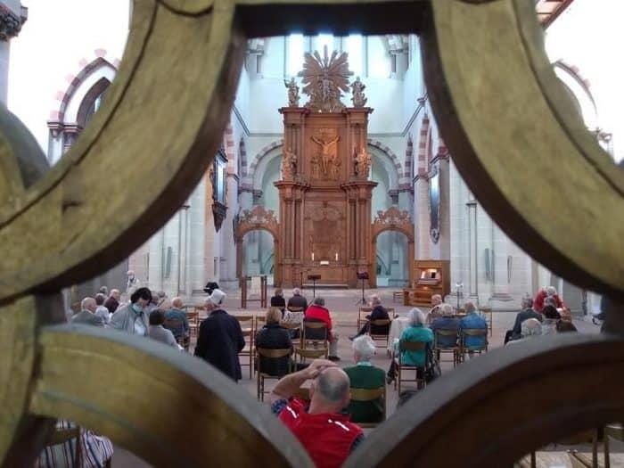 Blick in die Klosterkirche während einer früheren Muse- und Mußestunde. Foto: Klosterkirche