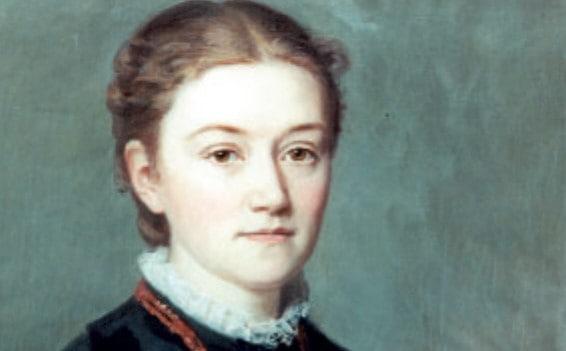 Gemälde von Agnes Pockels. Foto: Wikipedia