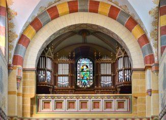 Foto: Die Orgel im Kaiserdom zu Königslutter. Foto: SBK/Andreas Greiner-Napp
