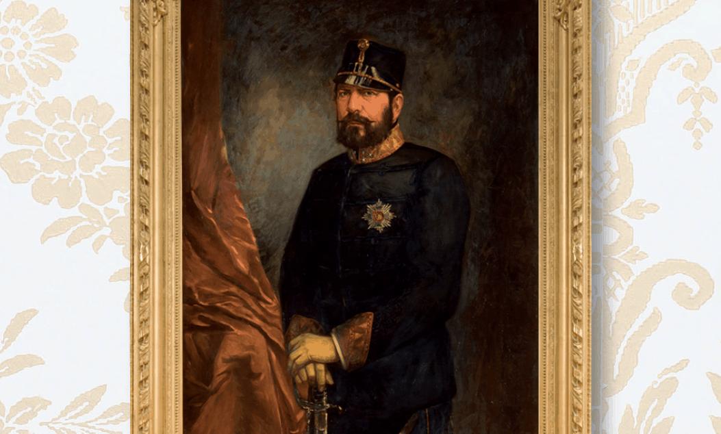 Herzog Wilhelm (1806–1884), Karl Wilhelm Erich Körner, um 1900 Öl auf Leinwand, ausschnitt. Foto: Katalog