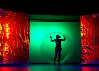Szene aus fridays.future. des Jungen Theaters Göttingen. Foto: Hart am Wind/Dorothea Heise