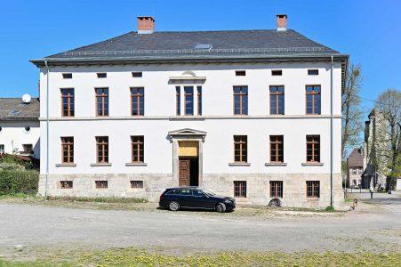 Das ehemalige Gutsherrenhaus der Domäne Walkenried beherbergt das Informationszentrum. Foto: SBK/Andreas Greiner-Napp