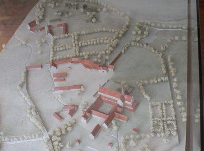 Modell des Klosters um 1725. Foto: Der Löwe