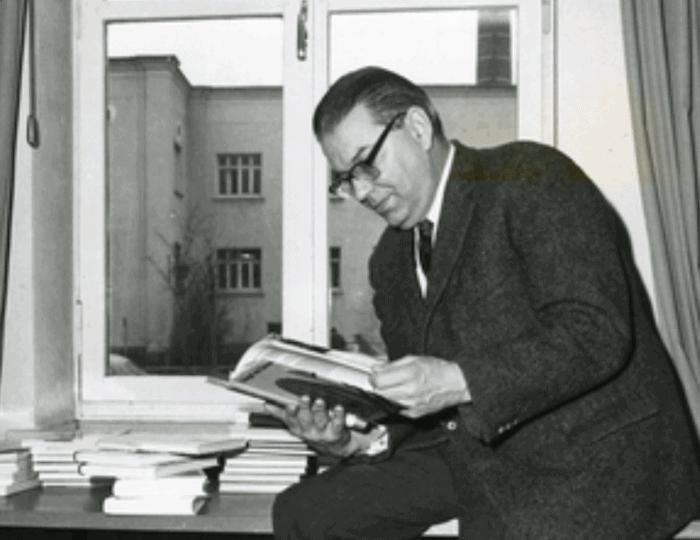 Georg Eckert. Foto: Georg-Eckert-Institut