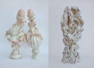 Skulpturen von Keiyona Stumpf. Foto: Museum Schloss Fürstenberg