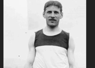 Johannes Runge als Olympiateilnehmer 1904 in St. Louis/USA. Foto: Wikipedia