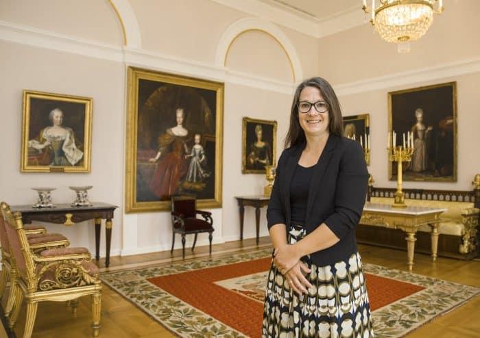 Dr. Ulrike Sbresny im Schlossmuseum. Foto: RBS / Peter Sierigk