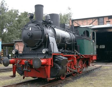 Diese Güterzug-Tenderlock des Herstellers Jung wurde von 1933 an am Braunschweiger Hafen eingesetzt. Foto VBV