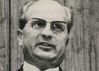 Alfred Kubel war im Jahr 1946 Ministerpräsident des Freistaates Braunschweig. Foto: Archiv IBR .