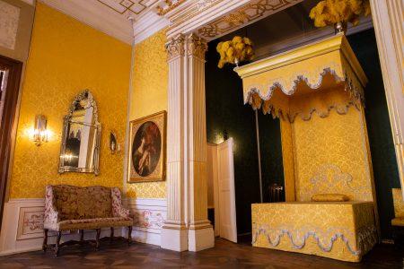 Das barocke Paradeschlafzimmer von Herzog Anton Ulrich. Foto: Museum Wolfenbüttel / Florian Kleinschmidtz