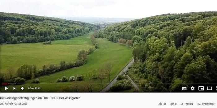 """Vier Folgen hat Wolfenbüttels Kreisheimatpfleger Marco Failla auf seinem Kanal """"Geschichte und Geschichten im Braunschweiger Land"""" bisher hochgeladen. Foto: Screenshot"""