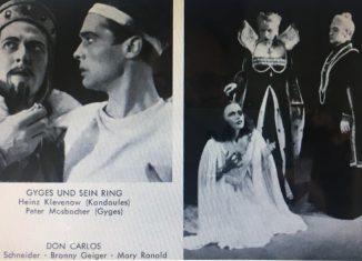 Szenen vom Neubeginn des Staatstheaters. Foto: IBR