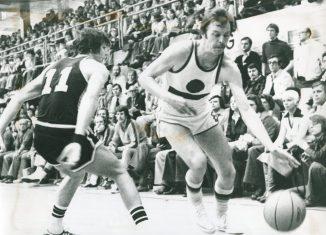Jürgen Wohlers im Pokalfinale von 1975 gegen TSV Bayer 04 Leverkusen. Foto: Archiv Wohlrers