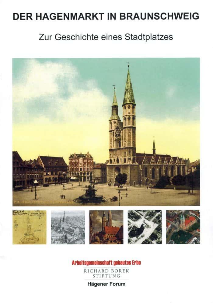 """Cover der Broschüre """"Der Hagenmarkt in Braunschweig - Zur Geschichte eines Stadtplatzes"""". Foto: privat"""