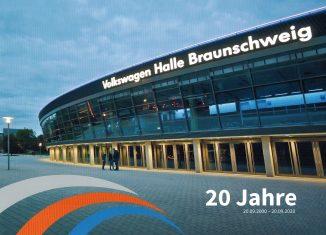 Titelseite der Jubiläumsbroschüre.