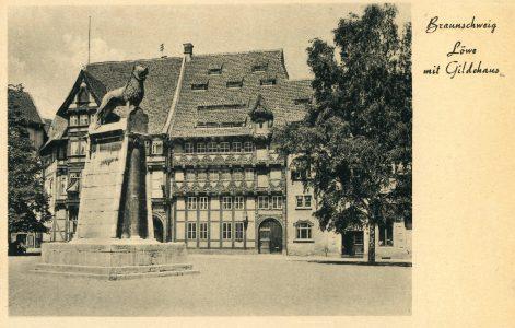 Fotomotiv für eine Postkarte aus Braunschweig. Repro: IBR