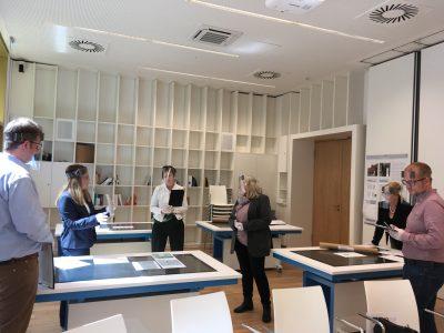 Eine Jury gab dem Gestaltungsbüro Kocmoc den Zuschlag für die Gestaltung der Stelen Foto: Gedenkstätte in der JVA Wolfenbüttel / Lölke.