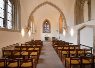 Blick in die sanierte Frauenkapelle. Foto: Andreas Greiner-Napp