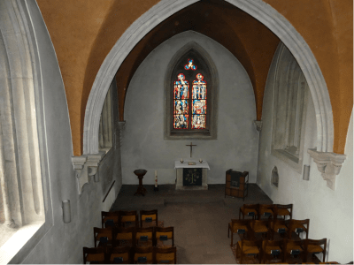 So sah es im Inneren der Frauenkapelle zuvor aus. Foto: Staatliches Baumanagement
