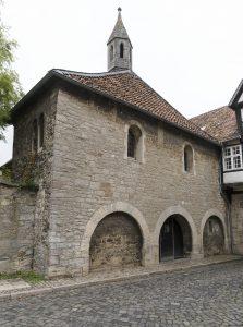 Unscheinbarer Eingang zur Frauenkapelle. Foto: Peter Sierigk