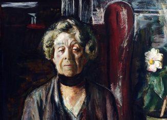 Portrait von Ricarda Huch (Ausschnitt). Repro: IBR