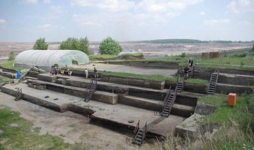 Ausgrabungsstätte in Schöningen. Foto: Forschungsmuseum Schöningen
