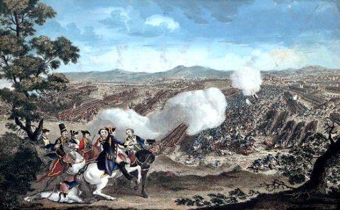 Gemälde von der Schlacht bei Minden. Foto: Wikipedia/gemeinfrei