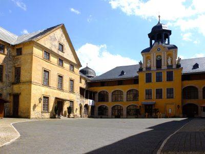 Blick in den Schlosshof. Foto: Verein Rettung Schloss Blankenburg