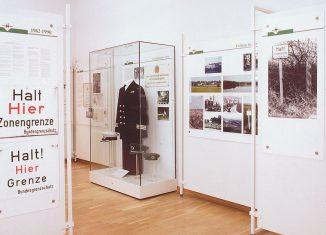 Blick in die Dauerausstellung. Foto: Zonengrenz-Museum