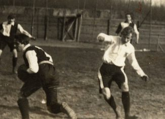 In Magdeburg treffen Eintracht Braunschweig und Hannover 96 im April 1905 das erste Mal in einem Meisterschaftsspiel aufeinander. Die Geburtsstunde des Derbys. Foto: Eintracht Braunschweig